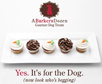 A Barkers Dozen Gourmet Dog Treats