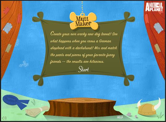 Mutt Maker Free Online Game