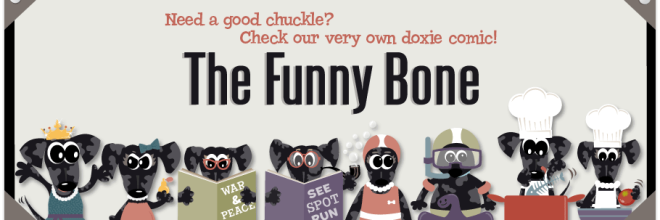 dog cartoon The Funny Bone