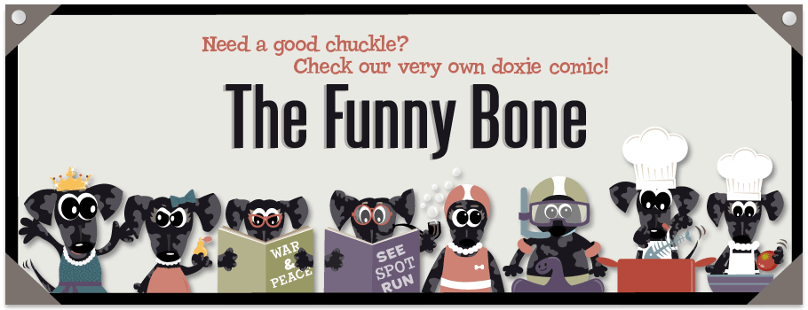 Mina & Max The Funny Bone Dog Comic